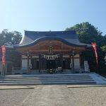 呉羽にある姉倉比売神社へ参拝と御朱印を頂きました